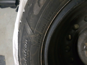 Goodyear winter tyres and rims - 225 / 60 / R16 - Toyota Camry