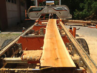 Mobile Saw Mill Service by Sawmill Sal