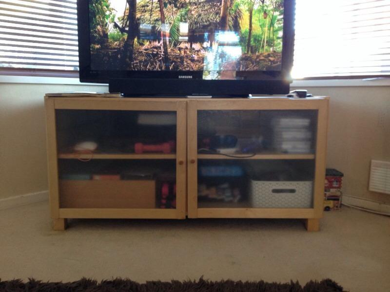 ikea large tv cabinet buy sale and trade ads great prices. Black Bedroom Furniture Sets. Home Design Ideas