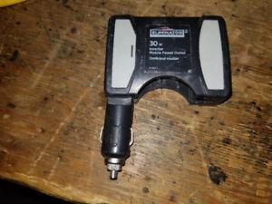 Eliminator 30watt cigarette lighter power inverter