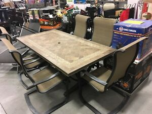 7-Piece patio dining set only $479.99!