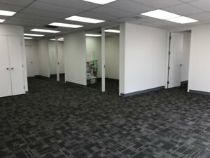 2 Offices, 2 Bathrooms, Open Space For Lease in Central Location