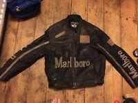 Marlboro Racing Leather Jacket Large