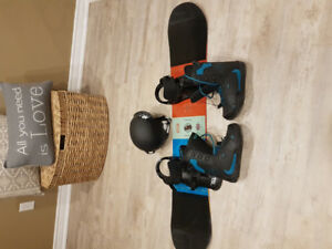 Snow board package (brand new)
