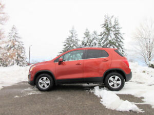 2015 Chevrolet Trax LT AWD Crossover- 4 NEW TIRES!!  CERTIFIED