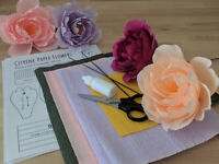 DIY Paper Flowers for Mother's Day – Workshop