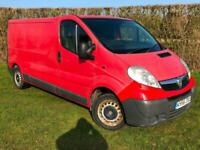 2007 56 Vauxhall Vivaro 2900 2.0 CDTi LWB Red 1 Owner 5 Seater Full MOT NO VAT
