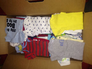 baby boy clothing large lot for sale NB-3months