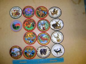 ONTARIO MNR DEER,MOOSE,BEAR HUNTING PATCHES,OLD LURES sell,buy London Ontario image 3