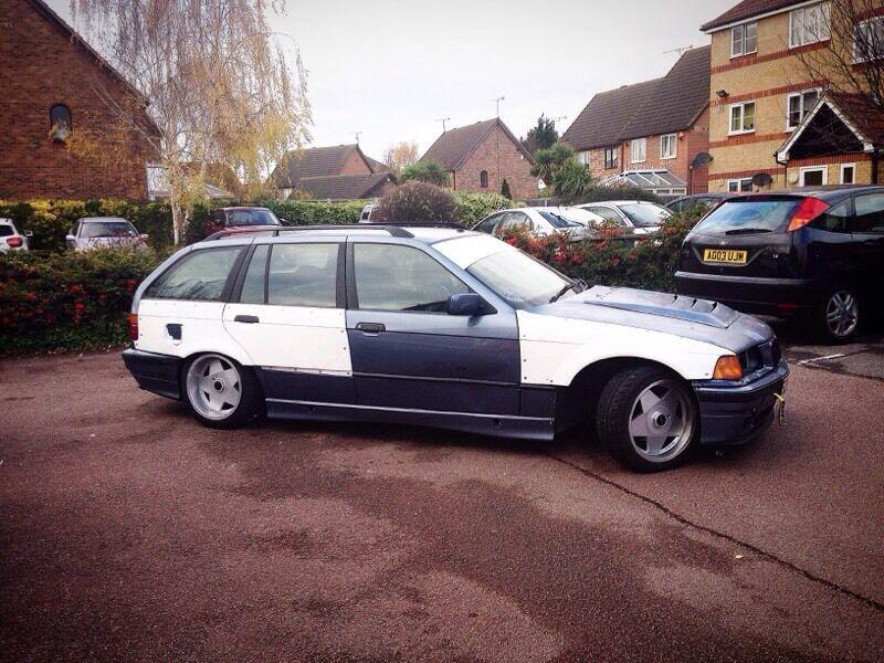 BMW E36 touring 323/325 drift spec with mot £2000
