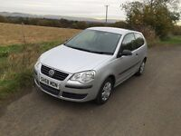 VW POLO 3 dr November 2008 only 38k miles
