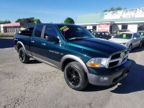 2011 DODGE RAM 1500 - 4X4 - HEMI - QUAD CAB - LOW KM - CERTIFIED