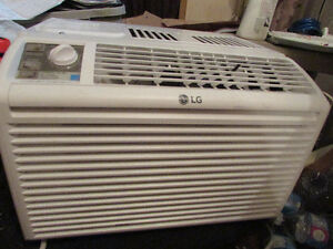 LG 6000 BTU Air Conditioner used only one summer