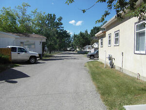 2 acre mobile home park and home rental Southern Alberta
