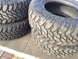 """5 X 4WD 4X4 33"""" DISCOVERER COOPER STT 285/70R17 OFFROAD TYRES MUD Lutwyche Brisbane North East Preview"""