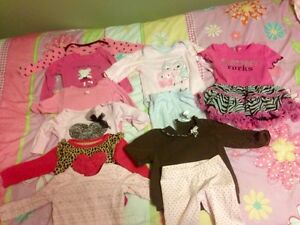 Outfits from 3-6 months. Smoke and pet free home! Regina Regina Area image 1