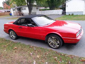 1992 Cadillac Allante cuir Convertible decapotable