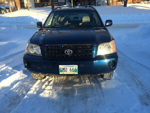 2003 Toyota Highlander SUV **BRAND NEW SAFETY** ONLY $6500