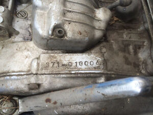 1973 Yamaha TX500 0006 Engine Regina Regina Area image 1