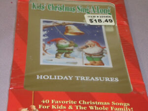 FOR SALE A 3 CD COLLECTIBLE TIN KIDS 2004 CHRISTMAS SING-A-LONG