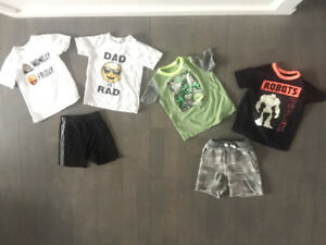 Size 5 BOY SPRING/SUMMER clothes !!! Like new $140 FOR ALL
