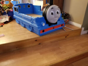 Two Toddler beds (Thomas the Train and Frozen)