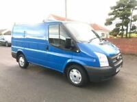 2012 12 FORD TRANSIT 100 T260 SWB LOW ROOF 2.2 TDCI IN JENSON BLUE