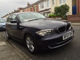 BMW 1 SERIES 2.0 5DR SERVICE HISTORY NEW MOT