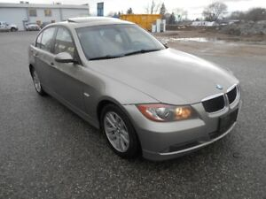2008 BMW 3-Series 328i Auto 108000KMS Winter Tiers Sedan