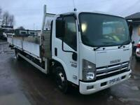 EURO 6 ISUZU TRUCKS FORWARD N75.190 AUTO EXTRA LONG 6.8M DROPSIDE BODY VGC