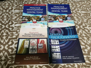 Dental assistant text books