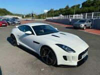 2014 JAGUAR F-TYPE COUPE 3.0 V6 S 380/440bhp Auto in White with Ceramic brakes