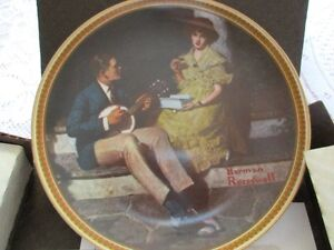 NEW - Norman Rockwell Collector Plate