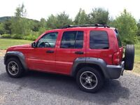 2003 Jeep Liberty rocky montain VUS