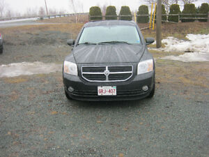 2008 Dodge Caliber Gray cloth Sedan