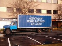 Moving, delivery and storage services.