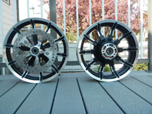 Stock Harley Davidson Wheels