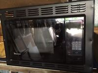 Rv microwave oven