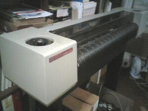 HP Designjet pen plotter