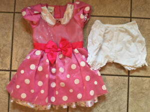 Size 4T Disney Store Minnie Mouse Costume $10