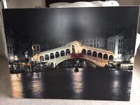 Large Canvas Print - Rialto Bridge