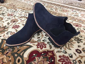 New Genuine Leather Men Chelsea Boots 2017 - size 8.5,9 and 9.5.