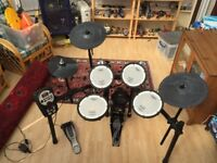 Roland TD11-KV Electronic Drum Kit incl Amplifier and Bass Pedal