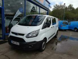 2017 Ford Transit Custom 2.0 TDCi 105ps L2H1 Factory Fitted Crew Cab Kombi Crew