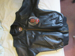 90 Year Anniversary Harley Davidson Leather Jacket