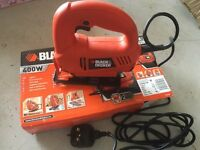 Black and Decker jigsaw 400w