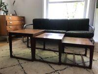 G-PLAN 60's vintage mid-century nest of 3 coffee table