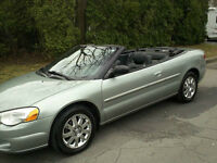 2004 Chrysler Sebring limited Cabriolet