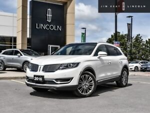 2016 Lincoln MKX Reserve  - Leather Seats -  Cooled Seats -  Blu