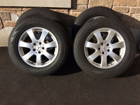 Selling Pirelli Winter Tire With Mercedes Benz Rims